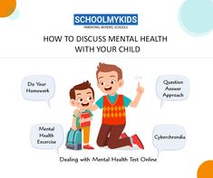 How to Discuss Mental Health with your Child Mental Illness In Children, Mental Health Test, Suffering In Silence, Human Mind, Health Advice, Life Skills, Parenting Hacks, Health Fitness, Confident