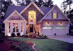 stone exterior cottage - Google Search