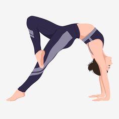 Yoga Illustration, People Illustration, Yoga Cartoon, Cartoon Art, Black Girl Art, Art Girl, Yoga Drawing, Yoga Day, Clip Art
