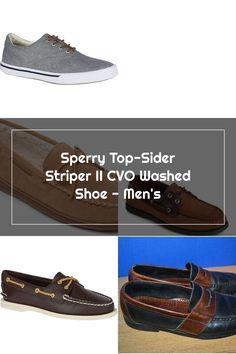 Sperry Top-Sider Striper II CVO Washed Shoe - Men's How To Wash Shoes, Sperrys Men, Sperry Top Sider, Sneakers, Tops, Fashion, Tennis, Moda, Slippers
