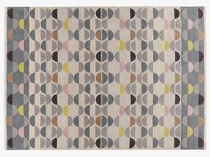 ODEON NEUTRAL Wool Large multi-coloured wool rug 170 x 240cm - HabitatUK