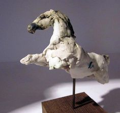 Clay Horse Sculptures - Leap by Anna Garberg Horse Sculpture, Sculpture Clay, Bronze Sculpture, Sculptures For Sale, Animal Sculptures, Ceramic Sculpture Figurative, Pottery Sculpture, Pottery Art, Horse Artwork