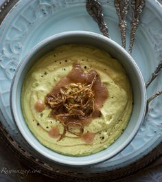 Curry Coconut Cauliflower Soup @Susan Powers.com