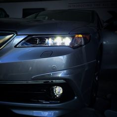 Ready for takeoff? Mike W. and #thenewTLX are. #AcuraStories #Acura #TLX #NewCar #Light #Cars #Car #InstaCar