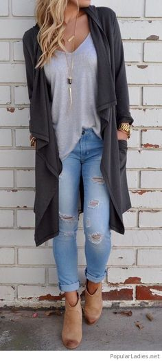 blue-jeans-grey-tee-dark-grey-cardigan