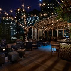 After a long winter, the urban drinkers of this great metropolis can't wait to head outside to imbibe. Fortunately, rooftop bars, nestled high above the clamor of the streets, are plentiful. Here's a list of some of the best.