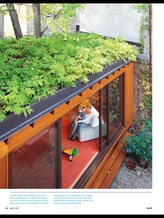 I will have a green roof one day