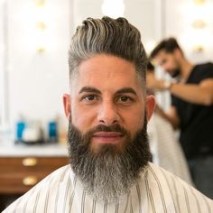 Pompadour Hairstyles for Men 2020 Mens Hairstyles Haircuts & Colors Ideas Mens Hairstyles Pompadour, Trendy Mens Hairstyles, Cool Mens Haircuts, Men's Hairstyles, Crazy Hairstyles, Hairstyle Men, Medium Hairstyles, Wedding Hairstyles, Pompadour Style