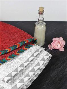 Ausgefranste Handtücher werden wieder schön