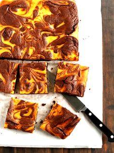 PUMPKIN PIE CHEESECAKE BROWNIES RECIPE | 5 Star Easy Recipes