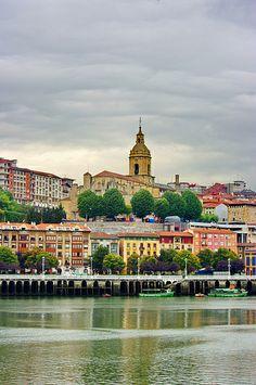 Rio Nerviòn, Bilbao, Spain