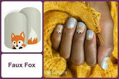 #FauxFoxJN Shop at https://jamminmomma79.jamberry.com/ #angiesjammies #manicure #naildesign #nailart #nailwraps #nails #diy