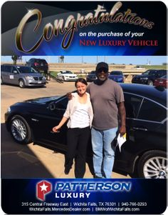Congratulations to Daniel Riley on his delivery of his HIGHLINE. - From Heike Misner at Patterson Luxury! Luxury Vehicle, Luxury Cars, New Bmw, Mercedes Benz, Congratulations, Delivery, Fancy Cars