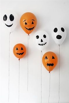31 Frightfully Easy Ways To Throw A Bewitching Halloween Bash... Some good ideas here for kids and adult parties alike.