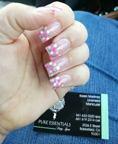 Love my nails. #pinknails