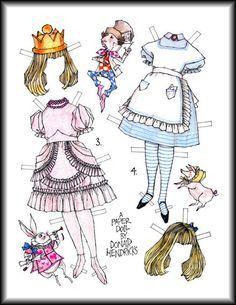 Miss Missy Paper Dolls: Alice by Donald Hendricks  Auf missmissypaperdolls.blogspot.com.au und auf bonecasdepapel.blogspot.com