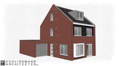 Vrijstaand woonhuis in bestaande woonwijk in Elst.