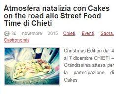 Sull'Opinionista si parla di Cakes on the road allo Street Food di Chieti