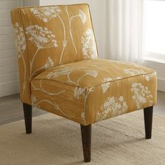 Skyline Furniture Fabric Slipper Chair | Wayfair