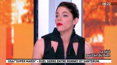 #nevrakaraca #black #dress #canalplus #canal+ #lamatinale #paris #tvshow #tv