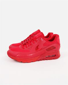 Nike Wmns Air Max 90 Ultra Essential 724981-601 724981 601 Color: Gym Red/Gym Red-University Red