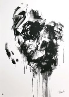 art Black and White face painting dark portrait surrealism surreal Abstract abstract art portraiture fine art Surreal Art surrealistic black and white portrait black and white art black and whtie abstract painting surrealist art surreal painting traditional painting surreal portrait