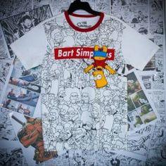 T-shirt femme Bart  Simspon