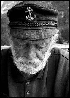 ⚓♡salt air⊰⛵     .I came upon an old man...