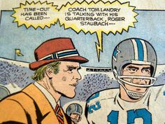"1973 DALLAS COWBOYS   1973 comic ""Tom Landry and the Dallas Cowboys""   Flickr - Photo ..."
