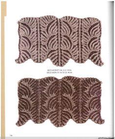 Knitting Fresh Brioche(4) - 木棉花 - 雨茫茫,雾茫茫,盼望花开,花已落……