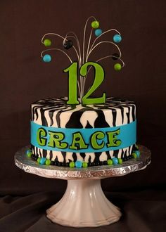 Grace's 12th - by SweetdesignsbyJesica @ CakesDecor.com - cake decorating website