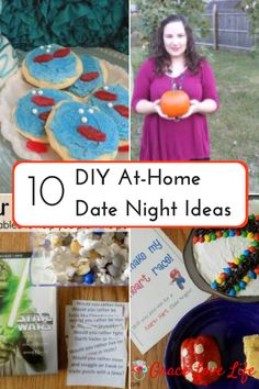 10 Unique DIY At Home Date Night Ideas | Grace Love Life. date ideas on a budget. Different date ideas. Date ideas when you are broke