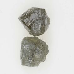 Uncut Irregular Shape 1.26 Ct Silver Gray Color Natural Diamond Lot
