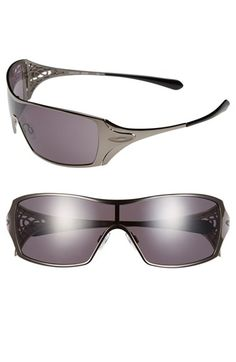 oakley commit sq womens sunglasses  women's oakley 'dart' shield sunglasses black
