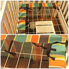 The Easiest DIY Crib Skirt, EVER! - Variety by Vashti