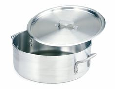 Crestware Extra Heavy Weight Aluminum Braziers with Pan Covers, 10 Quart -- Click image for more details.