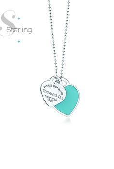 """Adorable:) always wanted a """"please return to Tiffany & Co"""" necklace"""