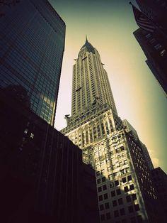 #manhattan #ChryslerBuilding #NewYork #usa #EtatsUnis Chrysler Building, Empire State Building, Manhattan, New York, Usa, Travel, Photography, New York City, Viajes
