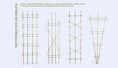 Bamboo trellis instructions