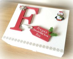 Great idea for decorating a Christmas Eve box! Our wooden box would be perfect for this lovely DIY treat, as well our wooden letters, wooden tags and wooden Christmas shapes. Click www.craftmill.co.uk for more information.