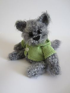 crocheted cat by goodspace on Etsy, $164.00