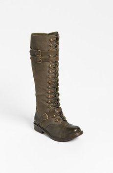 Zigi Girl Talia Army Green Boots $99