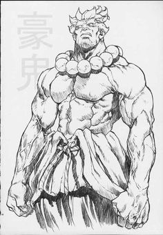 Akuma by mr. Art Reference Poses, Drawing Reference, Cool Drawings, Drawing Sketches, Character Concept, Character Art, Akuma Street Fighter, Street Fighter Characters, Character Design Inspiration