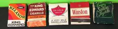 Lot Of Five Vintage Tobacco Related Matchbooks Collectable   | eBay