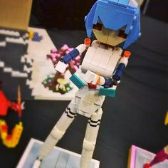 Rei from Evangelion! #anime #Eva #evangelion #manga #アニメ#Lego #geek