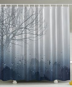 Constructive 3d Animals Forest 78 Shower Curtain Waterproof Fiber Bathroom Windows Toilet Shower Curtains