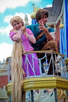 Rapunzel and Flynn Rider - lol flynn