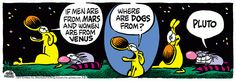 Mother Goose and Grimm By Mike Peters. Men Are From Mars, Mother Goose And Grimm, Comics, Pets, Comic Strips, Funny, Cartoons, Fictional Characters, Inspiration