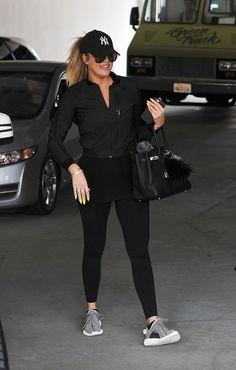 Khloe Kardashian's Fitness Street Style