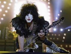 """Paul. Personally smashed guitar. Die-hard KISS fans looking for the ultimate in concert memorabilia from the group's current Australian tour need search no more. Why not acquire a guitar smashed onstage """"in your honor"""" by guitarist Paul Stanley -- for a mere $5,500?"""
